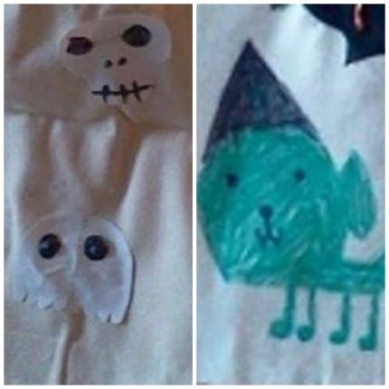 Spencer's Skull, Ghost, and Goblin Dog