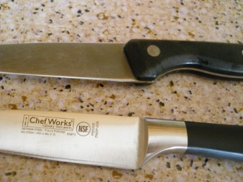 Chef Works vs My other knife