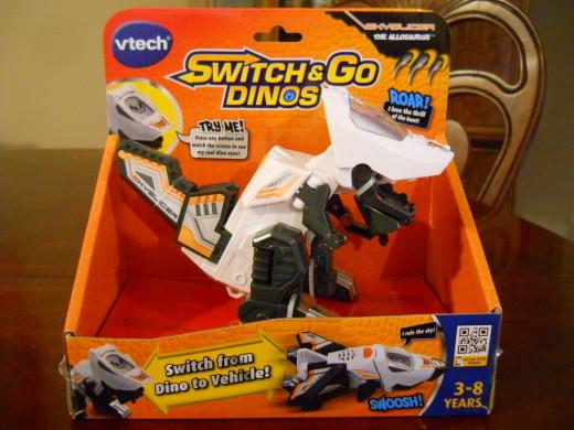 V-Tech Switch & Go Dinos Skyslicer Allosaurus