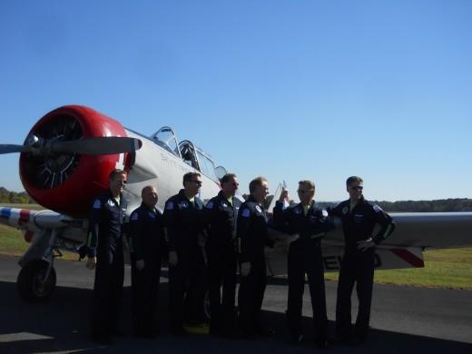 Pilots posing!