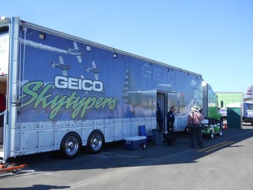 The GEICO Skytypers van. Isn't it gorgeous?