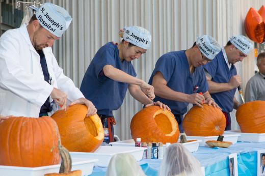 Doc-O'Lantern Carving Surgeons--how fun!