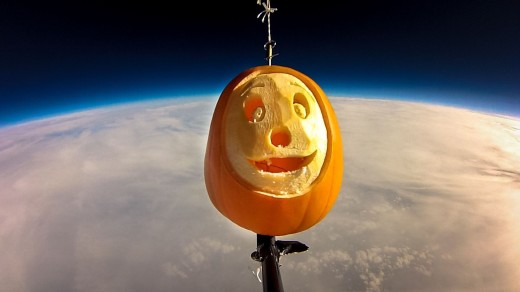 To boldly go where no Pumpkin has gone before!