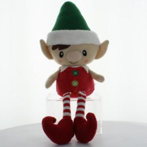 Peppermint Elf Doll with Heart