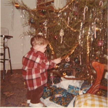 My Christmas tree in 1972