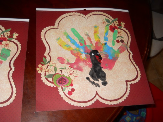 My Turkey Print