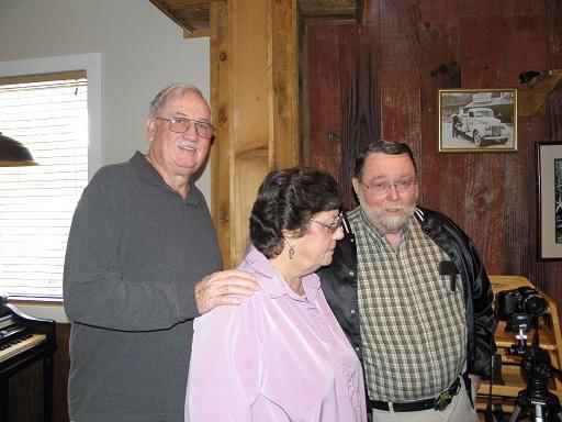 Joe, Carol, Hank