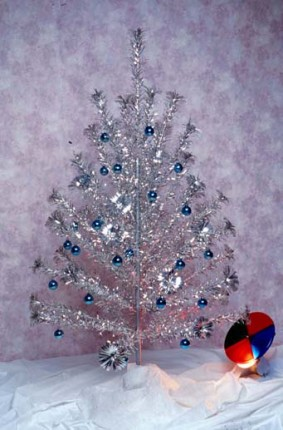 Aluminum Christmas Trees were popular in the 1960's
