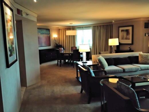 More of the Presidential Suite