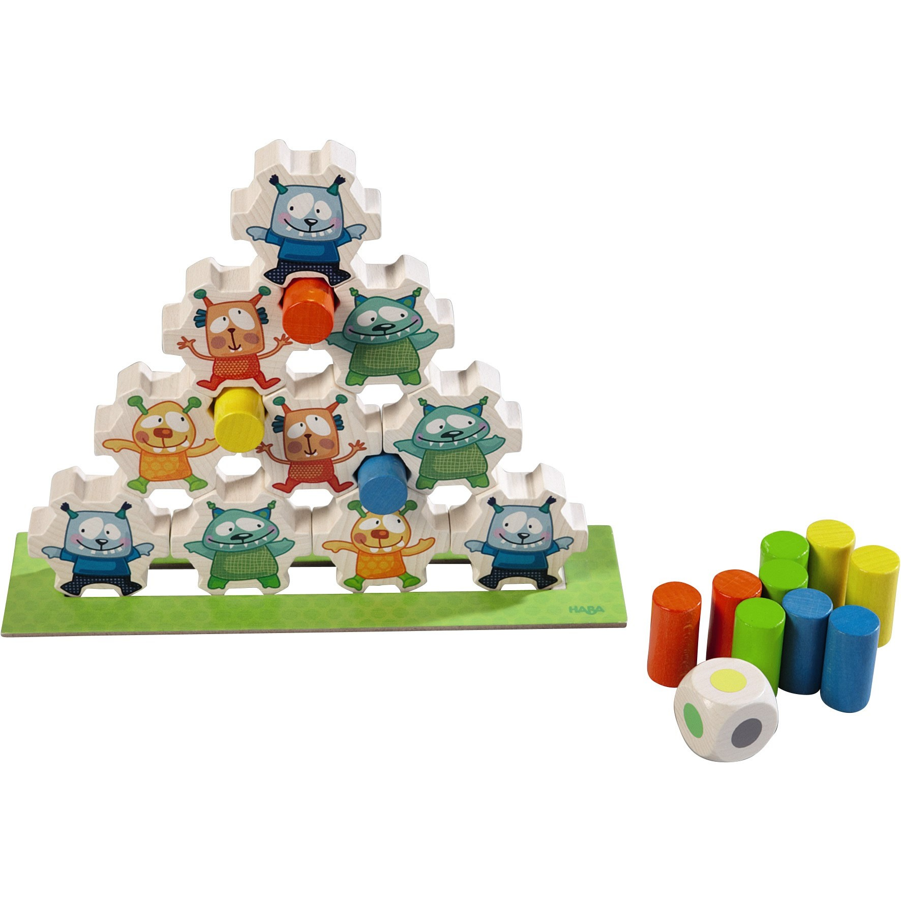 Monster Pile-on Game From HABA