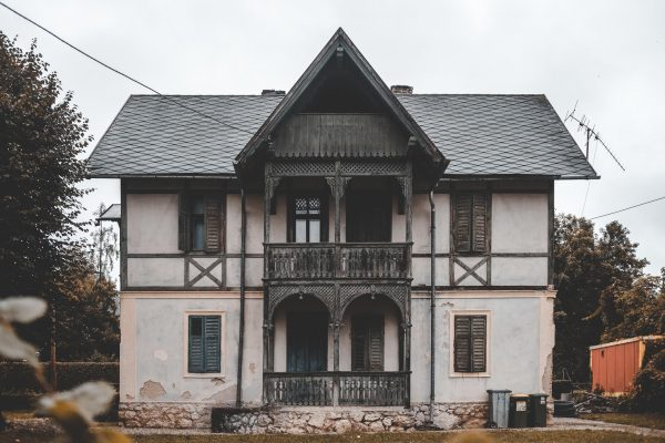 bringing an old house back to life