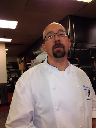 The Executive Sous Chef, Anthony Cieplinski