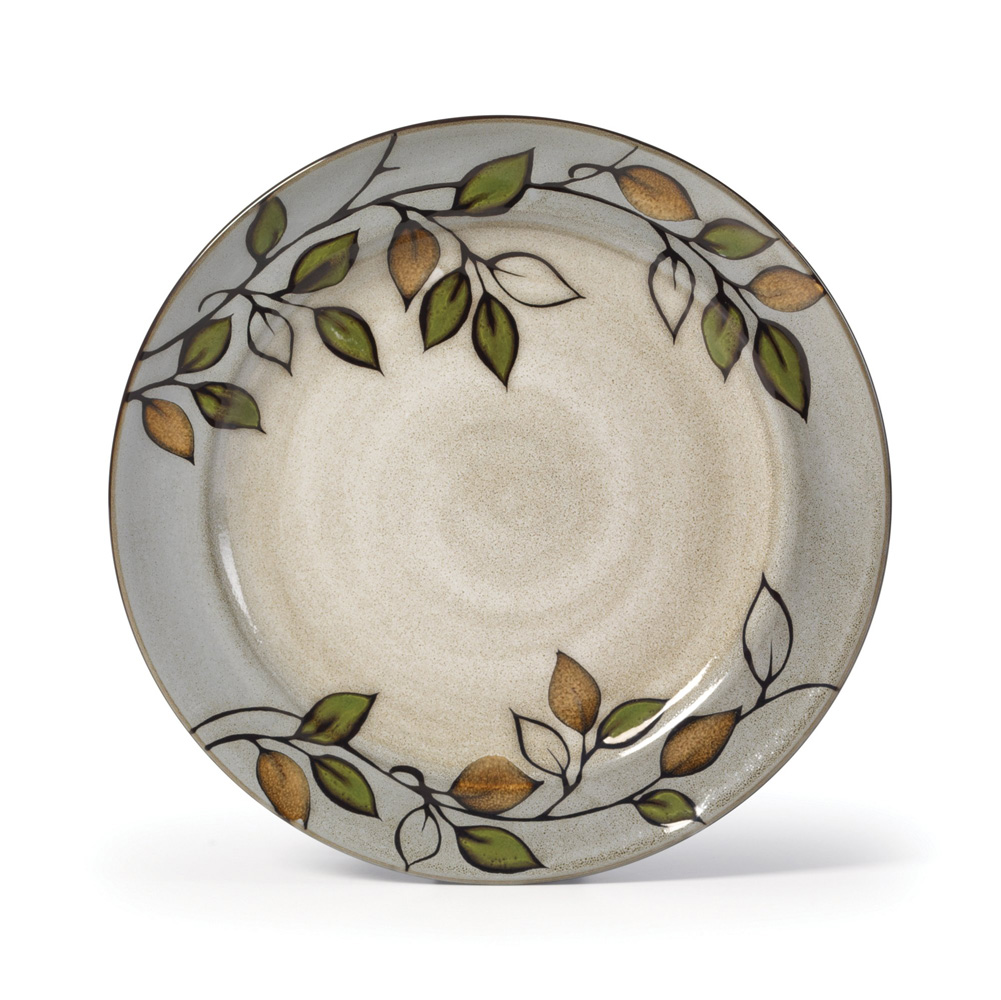 The Holiday Table: Pfaltzgraff Rustic Leaves Dinnerware
