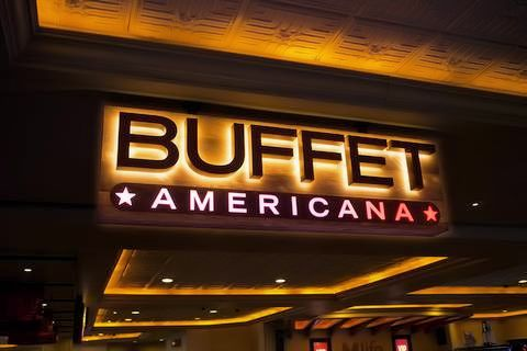 Americana Buffet is a Seafood Buffet on Saturday night.