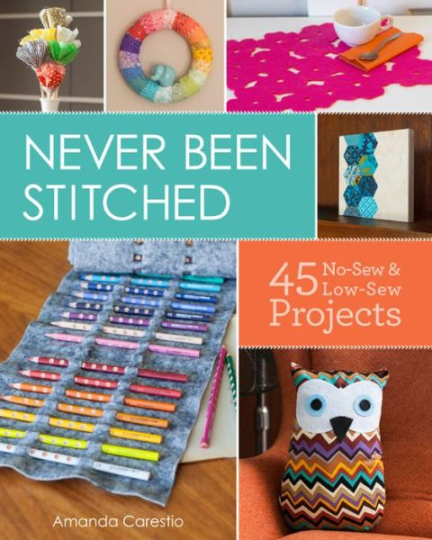 Never Been Stitched: 45 No Sew & Low Sew Projects