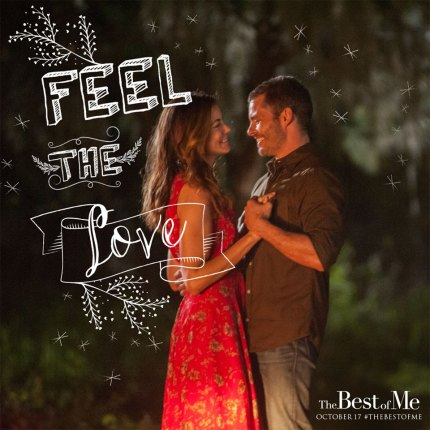 The Best of Me in theaters October 17