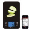 Apples on the scale, analyzed in the app on a smartphone!