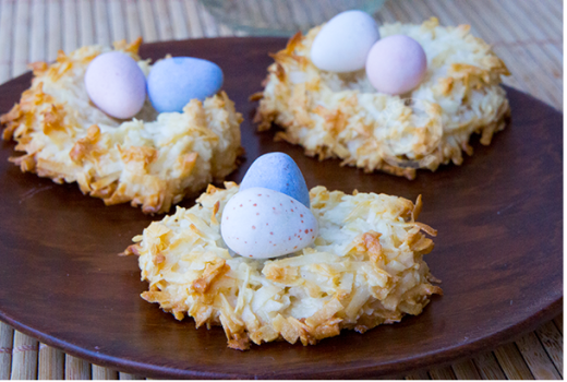 Easter Birds Nest Dessert