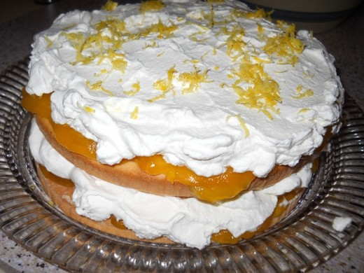 Gluten Free Lemon Cloud Cake