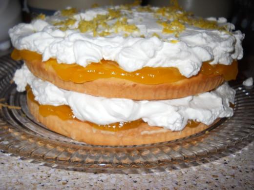 Gluten Free Lemon Cloud Cake