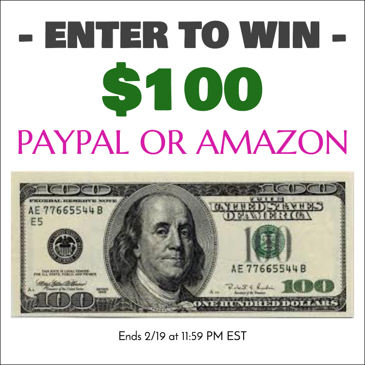 Win $100 In Paypal Cash Or Amazon Gift Code!