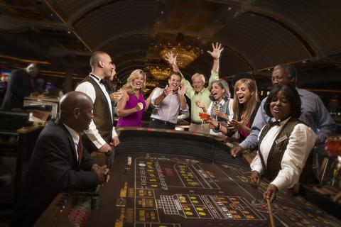 Table games in the casino
