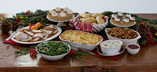 La Madeleine Country French Cafe Holiday Feast