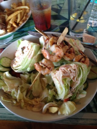 Shrimp Louis Wedge Salad