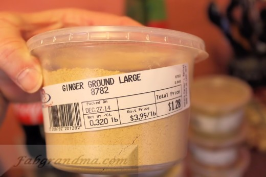 Ground Ginger from Your Dekalb Farmer's Market