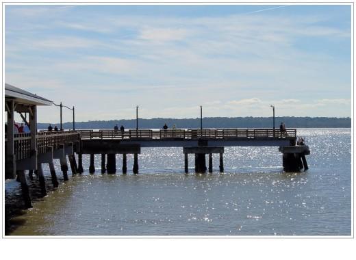 The pier in Saint Simons