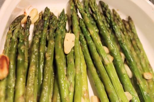Asparagus & Zuchinni Bake