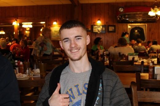 Michael--still can't believe he is 18 already.