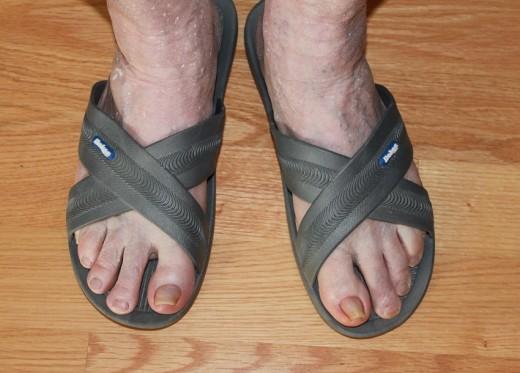 Bokos Men's Grey Sandals