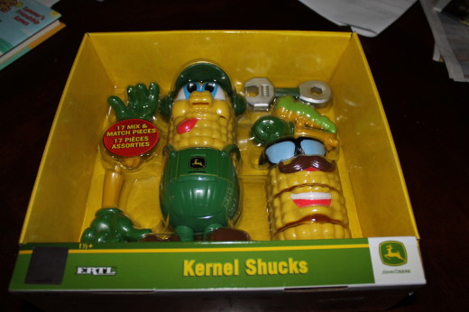 Kernel Shucks. This one is for my grandson. I know he is going to love it!