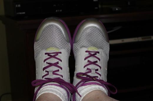 Ah! My feet feel so good in my Vionic Venture Walkers!