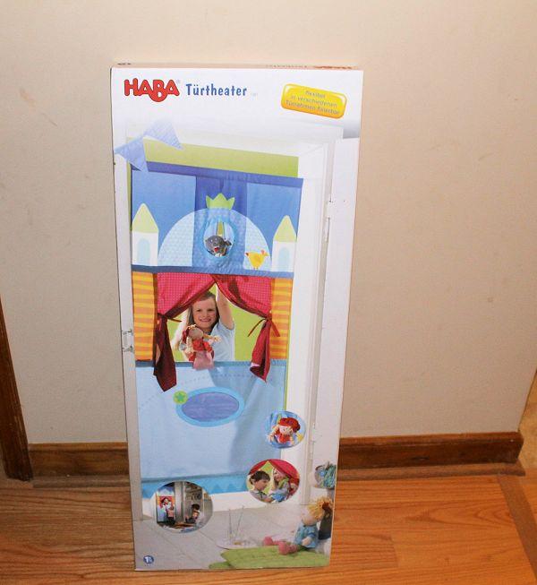 Haba Doorway Puppet Theater For Amelia's Birthday