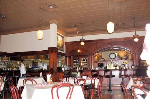 Inside Ted's Montana Grill