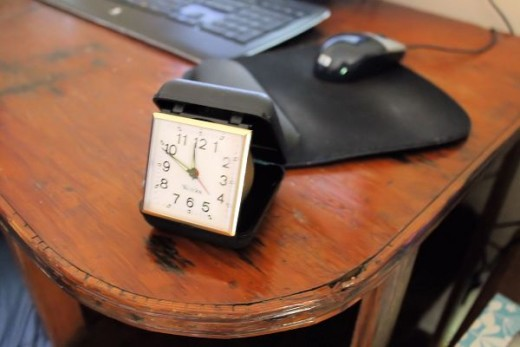 Timex Travel Alarm Clock