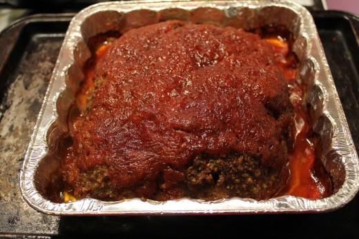 hidden valley ranch roasted garlic salad dressing used in meatloaf recipe