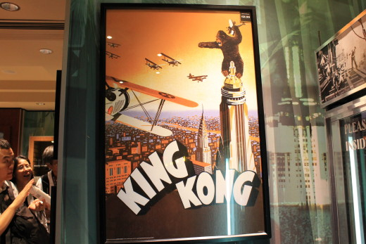 Couldn't forget to get a pic of the King Kong poster.