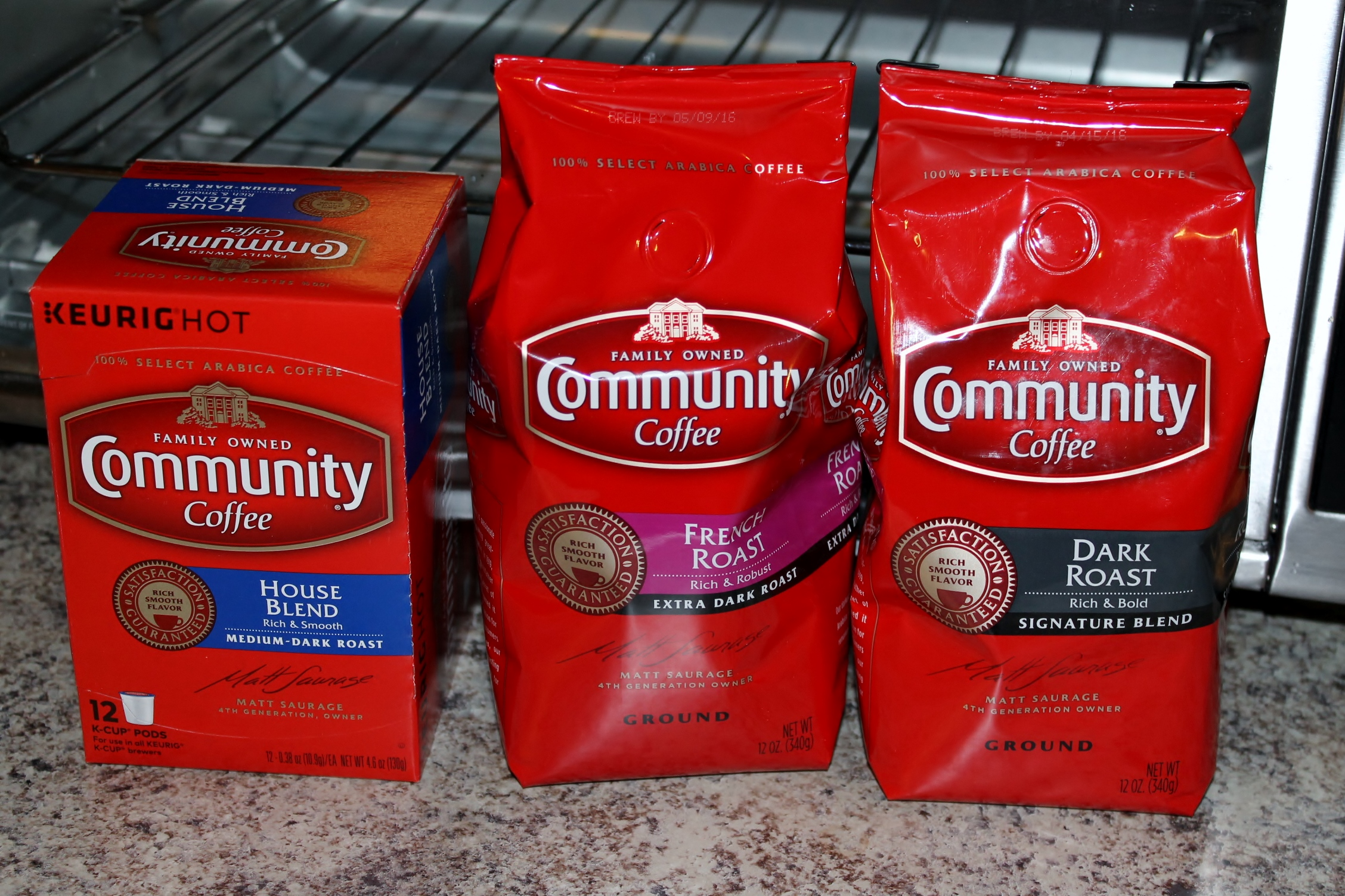 Community Coffee Is Sporting A New Package