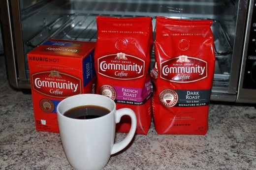 Get your Community Coffee in single serve cups or bagged coffee.