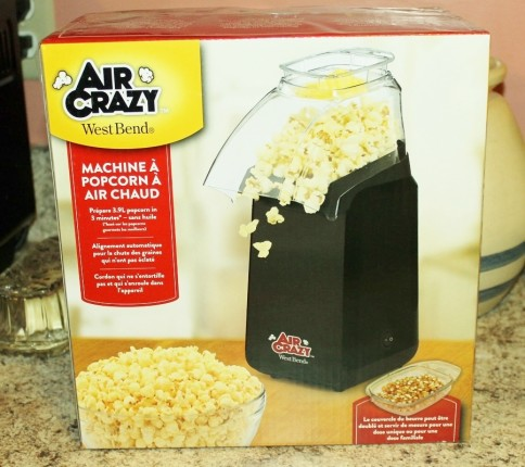 Westbend Air-Crazy Hot Air Popcorn Popper