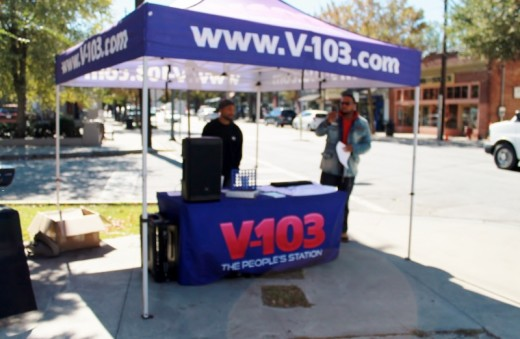 V 103 Radio Station was also there.