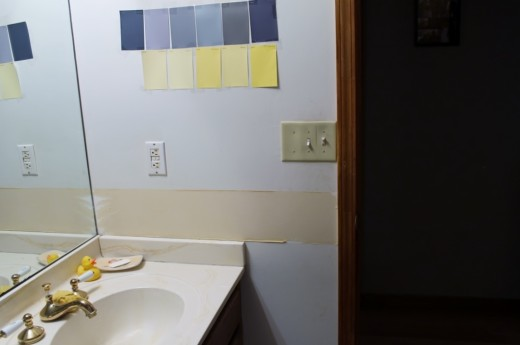 Choosing a paint color is hard.