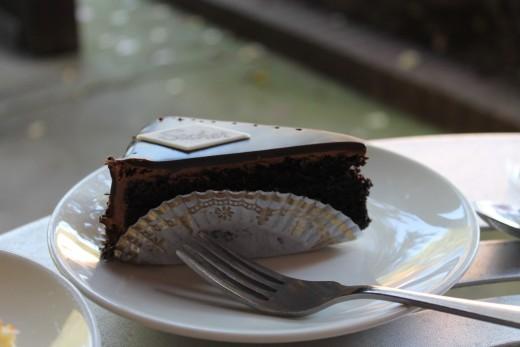 Grand Chocolate Tart.