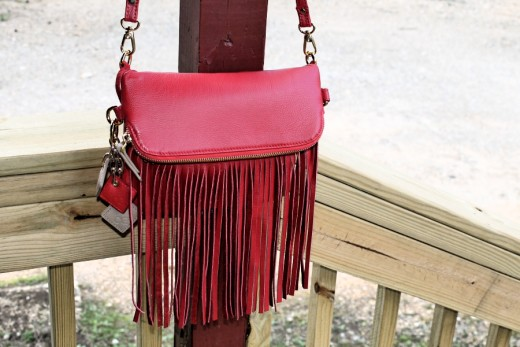 The Flamingo Crossbody Bag