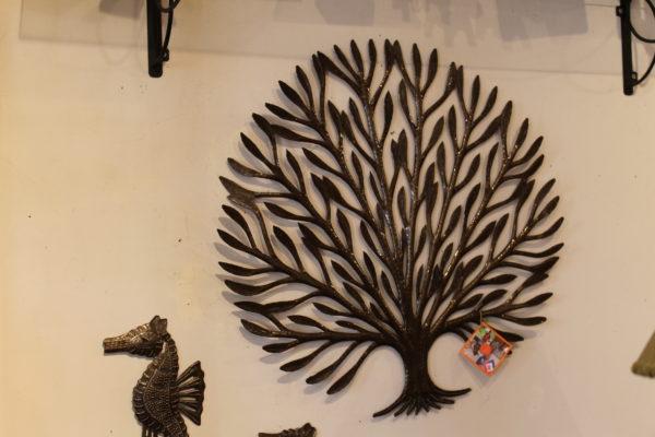 Tree wall sculpture