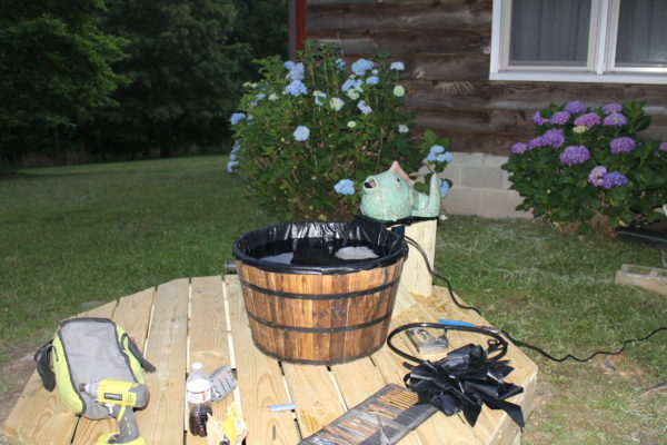 smart pond fountain project