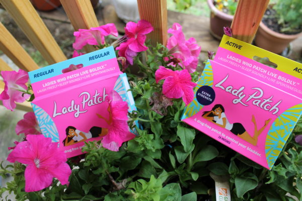 Lady Patch comes in two varieties: Regular and Active